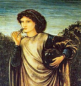 from Morgan le Fey by Edward Burne Jones